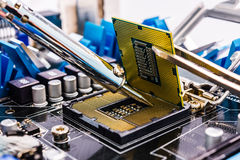 Computer repair Royalty Free Stock Image