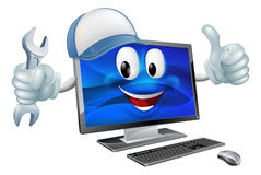 Computer repair concept Royalty Free Stock Photos