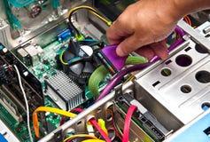 Computer Repair Or Upgrade Stock Image