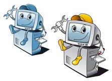 Computer repair service Stock Image