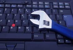 Computer repairs Stock Photo