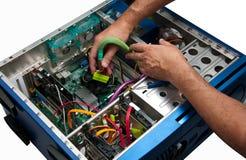 Computer-Reparatur Stockfoto