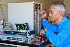 Computer-Reparatur Lizenzfreies Stockbild