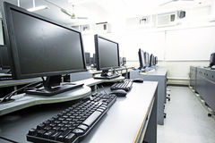 Computer room Stock Photos