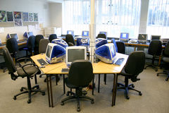 Computer Room Royalty Free Stock Photos
