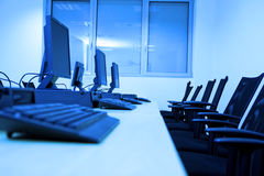 Computer room Stock Photography