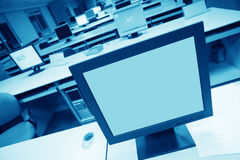 Computer's LCD Stock Photography