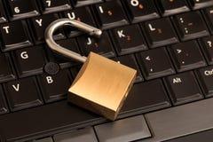 Computer sbloccato Immagine Stock Libera da Diritti