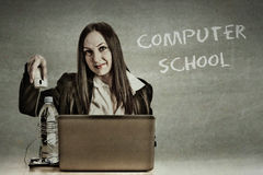 Computer School Royalty Free Stock Photos