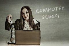 Computer-Schule lizenzfreie stockfotos