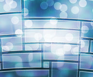 Computer Science Abstract Background. Blue Computer Science Abstract Background Stock Photo
