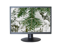 Computer screen Stock Images