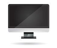 Computer screen isolated Stock Image