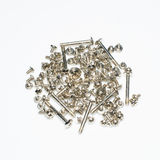 Computer screws bolts Stock Photo