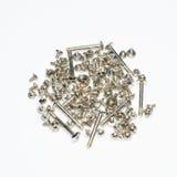 Computer screws bolts Stock Photo