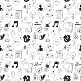 Computer seamless pattern Stock Images