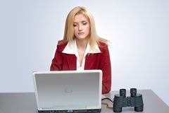 Computer search Royalty Free Stock Images