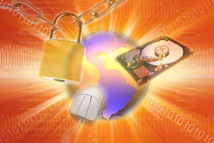 Computer security Royalty Free Stock Photography