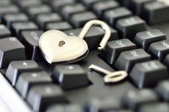 Computer security. Stock Photo