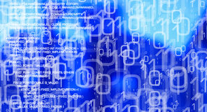 Computer security abstract background, virus attacks cyber security network Stock Photos