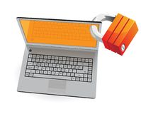 Computer security concept Royalty Free Stock Photo