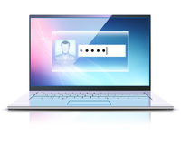 Computer security concept Stock Image