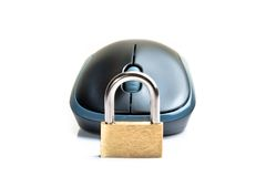 Computer security concept Royalty Free Stock Photography