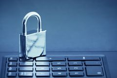 Computer security concept Royalty Free Stock Images