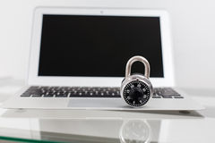 Computer security Stock Image