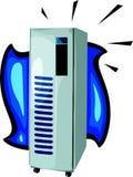 Computer server. Illustration Stock Image
