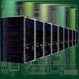 Computer Server Background Stock Photo