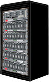 Computer Server Cabinet Royalty Free Stock Photo