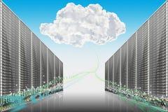 Computer, Server und alle Sachen bezogen Lizenzfreie Stockfotografie