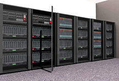 Computer Servers Royalty Free Stock Images