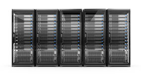 Computer servers Royalty Free Stock Photos