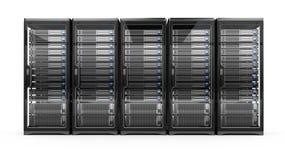 Computer servers vector illustration