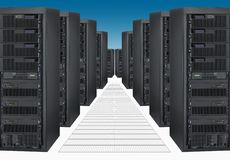 Computer Servers Royalty Free Stock Photography