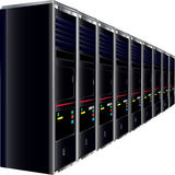 Computer Servers Stock Image