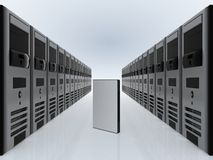Free Computer Servers And DVD Case Stock Photography - 4306462
