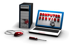Computer service Stock Images