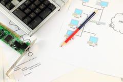 Computer service Stock Photo