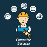 Computer service Stock Photos