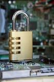 Computer-Sicherheit lizenzfreie stockfotografie