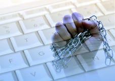 Computer slavery Stock Image