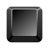 computer sleutel Royalty-vrije Stock Foto's