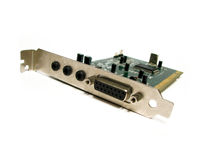 Computer sound card Stock Photography