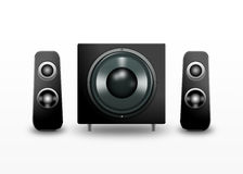 Computer speakers Royalty Free Stock Photos