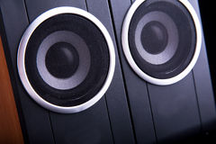 Computer speakers Stock Photography