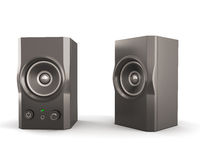 Computer speakers Royalty Free Stock Photography