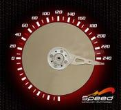 Computer speed Stock Image